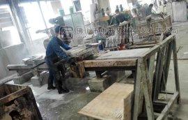 二手石材机械,切边,手扶磨,大理石薄板对破分切机