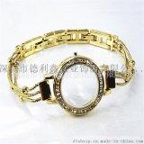 德利鑫DLXZZ锌合金表带时尚表带表壳套装 生产厂家