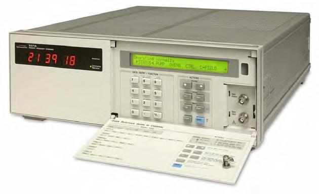美高森美Microsemi(原Symmetricom)5071A铯原子频率标准/一级频率标准/铯钟/铯频率源