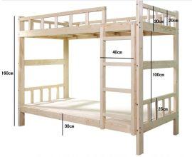 成都实木上下床,公寓高低床,坚固耐用