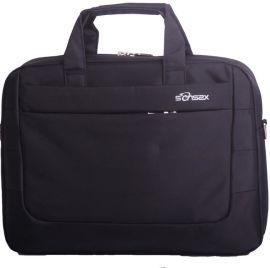 手提笔记本电脑包14寸大空间尼龙防泼水商务公文包安全防盗简约时尚公文包