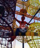 青少年拓展訓練營 繩網探險樂園 兒童攀巖器械 野外公園拓展設施