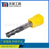 廠家   HRC45 硬質合金鎢鋼平頭銑刀 CNC刀具 接受非標定製