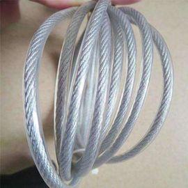pvc钢丝绳 包塑钢丝绳直径3-10mm均有现货 耐磨钢丝绳