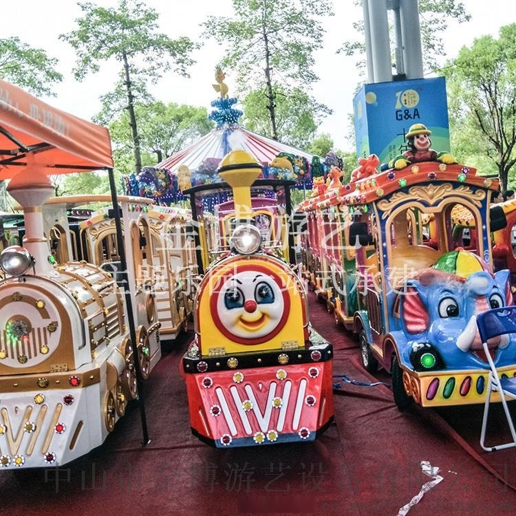 小型游乐设备/儿童户外游乐设备小火车