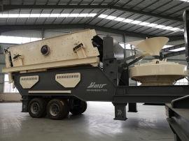 江苏徐州建筑垃圾处理设备 移动式砂石破碎机可分期