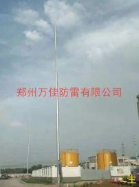 变电站GH-35米避雷针,环形钢管杆独立避雷针