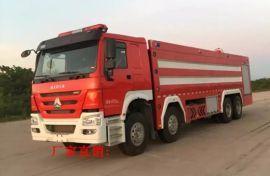 重汽豪沃24吨大型水罐消防车 城市主站消防车
