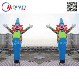 6米广告展示充气舞星 节日活动店铺宣传充气舞星人偶