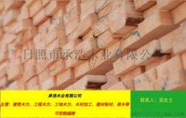 三门峡花旗松建筑用工程木方价格行情