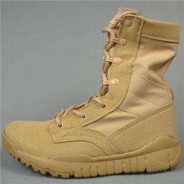 夏季戶外靴子男 徒步靴透氣超輕沙漠靴