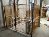 上海地区厂家直销低碳钢丝车间隔离网仓库护栏网美观大方结实耐用选科尔福