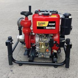 HS25HP高压柴油机动消防泵