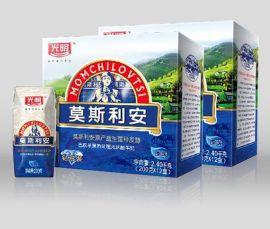 山东铁盒纸盒包装厂家供应奶盒包装 纸箱包装