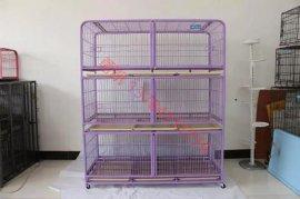 折叠宠物笼子厂家直销  铁丝狗笼现货批发 鸟笼价格