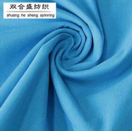 弹力太空层太空棉布料 夹丝空气层针织面料 女装卫衣服装时装面料