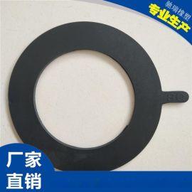 大口径橡胶法兰垫片食品级硅胶垫片EPDM耐酸碱法兰垫片加厚耐磨法半垫片