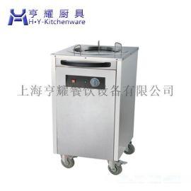 上海双头暖碟车厂家 中餐厅电热暖碟车 单头移动式保温暖碟车 商用不锈钢暖碟车