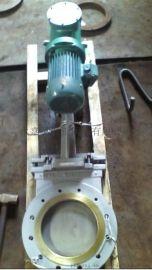 PZ273X电液动刀闸阀 温州瓯北刀闸阀厂家 CAD图纸