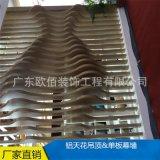 异形氟碳烤漆铝方通 弧形铝方通 吊顶材料型材方通