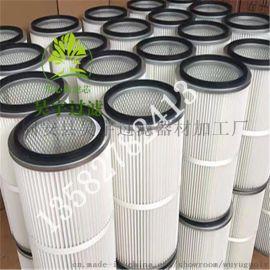 【图片】聚酯纤维PTFE覆膜无纺布除尘滤芯滤筒