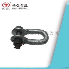 U型挂环 铁连接 热镀锌钢件 电缆电力线路连接 U-16 85型
