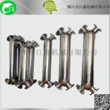 中山 螺旋缠绕管换热器 X型高效冷却器 管壳式换热器冷凝器 不锈钢