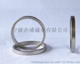 厂家直销合盛磁业40H大圆环烧结钕铁硼磁钢
