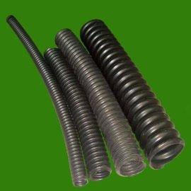 黑色塑料螺旋管 地埋单壁波纹碳素管 50-200现货供应