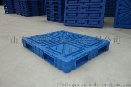 1111双面吹塑塑料托盘1.1*1.1米吹塑托盘双面托盘承重大