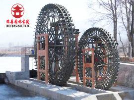 绵阳实木水车厂家,公园黄河水车设计定制