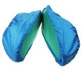 无尘鞋套防静电PVC防滑鞋套无纺布鞋套防尘防滑耐磨