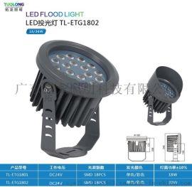 拓龙照明IP66户外工程结构防水led投光灯