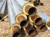 优质螺旋铁皮保温管,聚氨酯铁皮发泡保温管