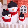 免费定制各类热卖圣诞雪人毛绒玩具饰品