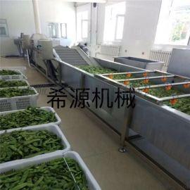 供应扁豆、豆角气泡清洗机 果蔬清洗机厂家直销