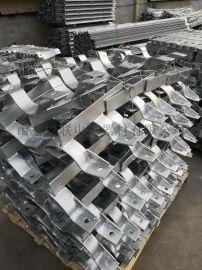 110千伏线路铁附件生产厂家 非标抱箍热镀锌