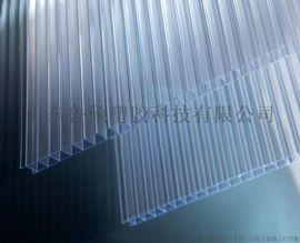 双层透明保温pc阳光板温室大棚
