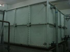 可定做纯净水设备中不锈钢水箱 玻璃钢水箱