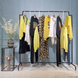 羽绒拼颗粒绒北京市全的外贸尾货批发库房折扣女装 朵拉薇拉品牌女装尾货
