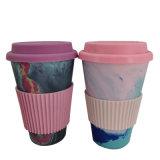 可定製竹纖維杯圖案和顏色