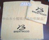 廠家直供訂製純棉竹纖維繡花割絨沙灘巾酒店浴巾