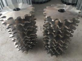 节距38.1双节距不锈钢链轮