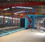 钢结构通过式自动抛丸机打砂机自动线
