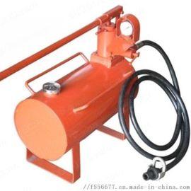 单体支柱增压升柱器 手动升柱器 乳化液移动泵站
