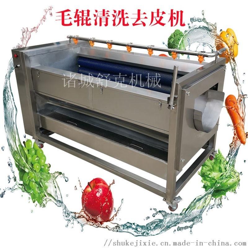 商用地瓜土豆去皮清洗机型号图片