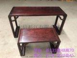 赞比亚血檀琴台 新中式红木家具