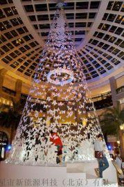 燕郊定做户外大型圣诞树工厂  大型框架圣诞树10米