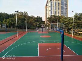 5MM硅PU球场材料厂家 4厚硅胶篮球场施工造价