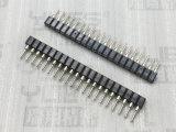 266-1.778mm 單排圓孔排母連接器 180度